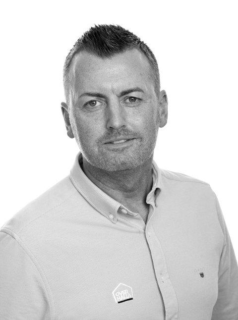 Salgs- og markedsdirektør: Per Einar Dahl i Overhalla Gruppen AS.