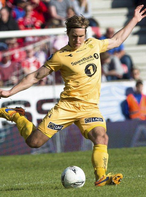 GOD: Martin Bjørnbak har vært meget god for Bodø/Glimt og var nominert til årets spiller i 1. div.