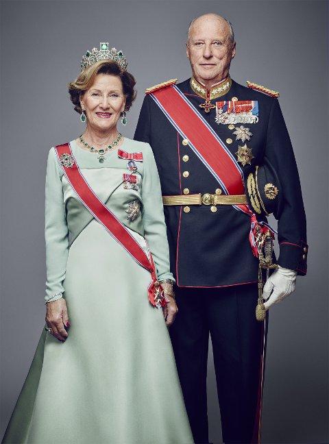 Til Steigen: King Harald og dronning Sonja skal tilbringe ettermiddagen og kvelden 12. juni i Steigen.