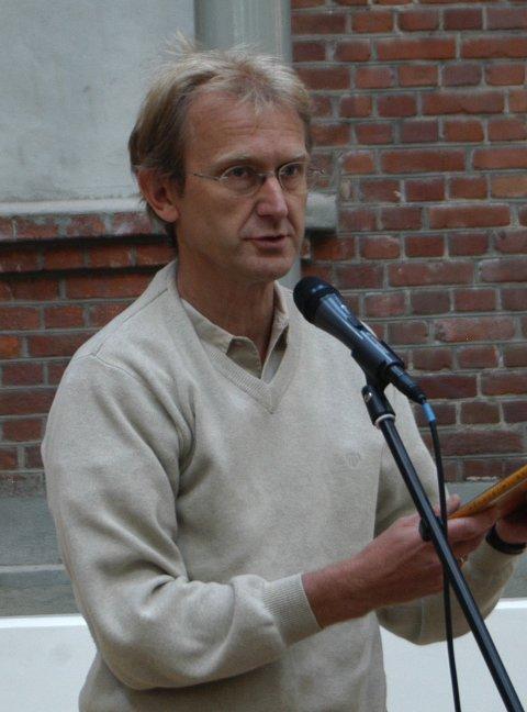 HOLDER FOREDRAG: Ove Røsbak. ARKIVFOTO