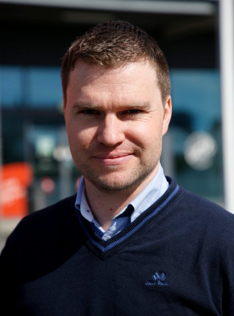 LEVEL DIGITAL: Daglig leder i Level Digital, Stig Blomseth.