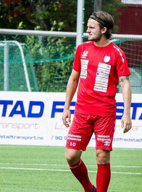 «Mål-Martin» leverte: Martin Trøen scoret to ganger i Strømmen-debuten.