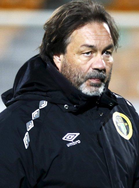 I venteboksen: Ull/Kisa-trener Vegard Skogheim vet ikke om han får ny kontrakt.