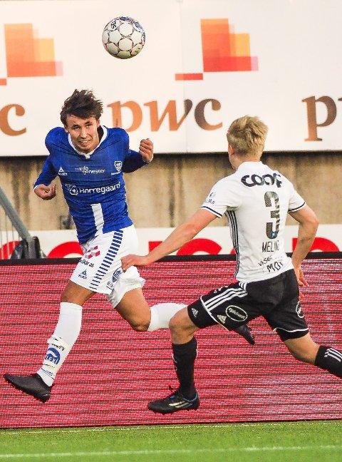 FRA START: Sarpsborg 08 har avslått flere bud på Anders Trondsen i sommer og midtbanespilleren er fortsatt i klubben. Onsdag spiller han fra start mot Odd. Foto: Thomas Andersen