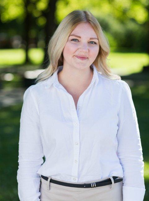 STORT ANSVAR: 23 år gamle Elisabeth Holien får ansvaret for flere tusen ansatte og elever som hovedutvalgsleder i Vestfold og Telemark fylke.