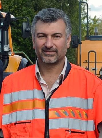 Dler Jaf i Statens vegvesen, lover at det nå jobbes hardt for å holde veiene frie for innvoller.