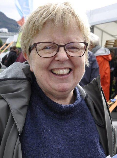 SIKKER: Gro Elisabeth Bastiansen skal stemme på sitt eget SV. FOTO: DAG BJØRNDAL
