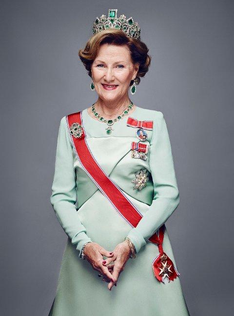 Bilde av dronningen, fotografert 15. januar 2016.