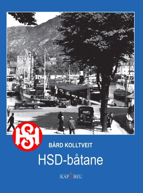 KJÆR LOGO: Slik ser bokframsida ut, sjølvsagt pynta med HSD sin skorsteins-logo.
