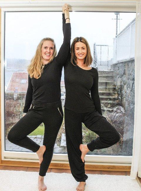 Alle retninger: Cathrine Gjessing og Annelise Mørken er åpne for alle yoga- retninger. Deltakerne må ha litt erfaring, slik at de kan ta ansvar for egen kropp.
