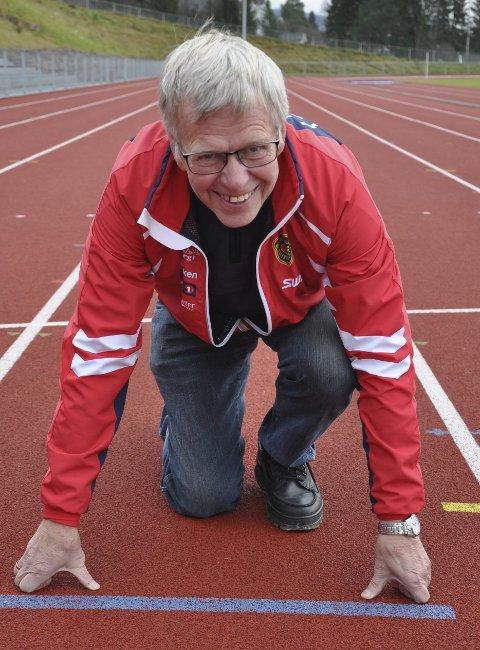 TRENING: Odd Hovi mener at treningsprinsippene for løping ikke har endret seg så mye på 50 år.