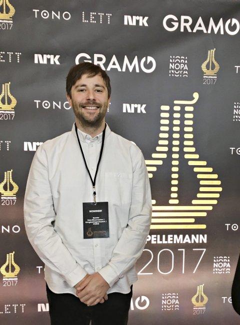 Blant de store gutta: Jan Erik Mikalsens debutalbum «Saan» var nominert i klassen samtidsmusikk i Spellemanmnprisen for 2017.