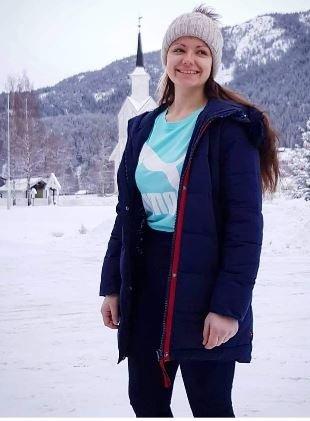 Leder av ungdomsrådet Emilia Dominika Macoilek