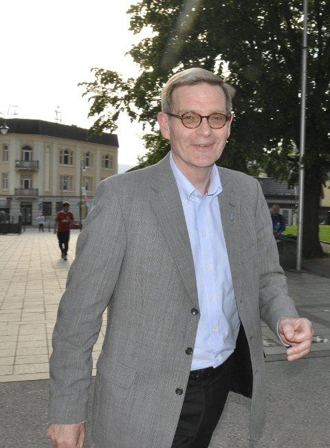 Ikke motløs: Knut H. Duesund er ikke motløs.