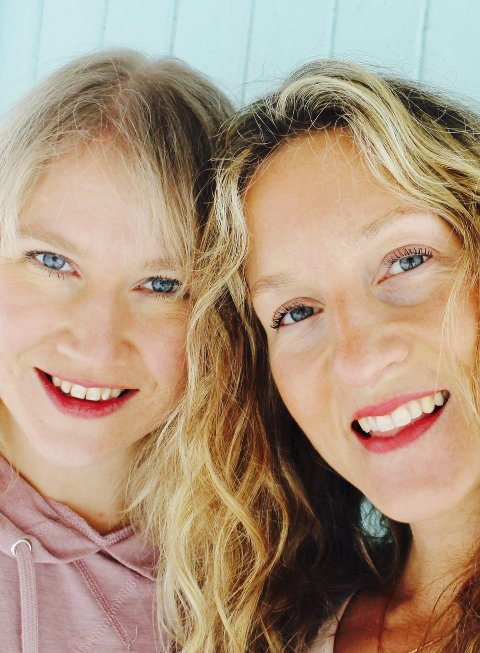 Gründere: Mari Joramo og Agnes V. Naur Kiss har startet studio.arkivFoto