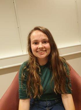 UTVEKSLINGSELEV: Alice Schwechheimer fra USA er utvekslingslev i Kongsvinger.