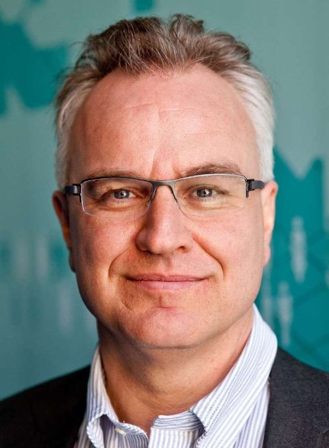 FREDSTALER: Kristian Berg Harpviken.