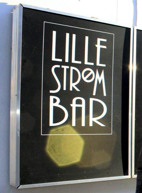 UBUDNE GJESTER: Lille Strøm Bar har hatt besøk av ubudne gjester.