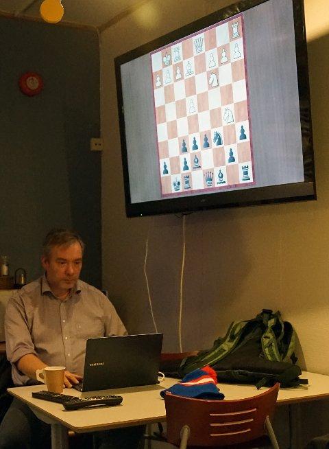 Tron Walseth er leder i Finnmark sjakkrets.