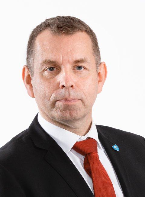 VIKAR: Halvard Ingebretsen er fylkesråd for finans og administrasjon, og skal fungere som leder av fylkesrådet mens Tonje Brenna har foreldrepermisjon.