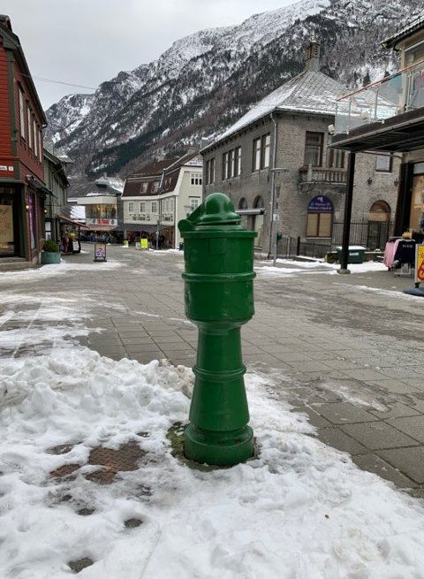 Brannhydranten har stått der den står i 111 år.