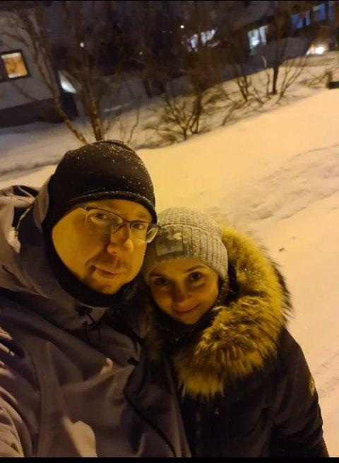 HAR NOK: Stig Arne Dahl og kona Zinaida gir ikke julegave til hverandre i år. De ønsker å gi pengene til andre i år.