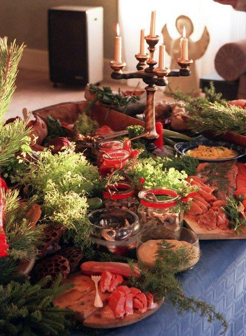 SNART JUL: Mange har bestilt julebord allerede, men det er ingen problemer med å skaffe seg plass hos lokale aktører.