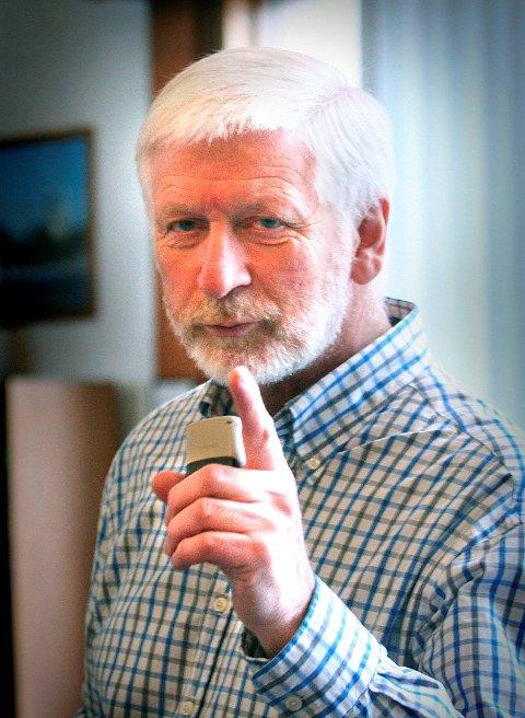 KRITISK:  Per Henrik Mørk fra SVi Narvik lar seg ikke imponere over Frps regjeringsinnsats.