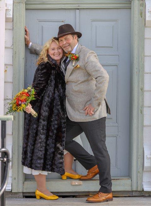 Bryllupet hadde 30-talls tema.