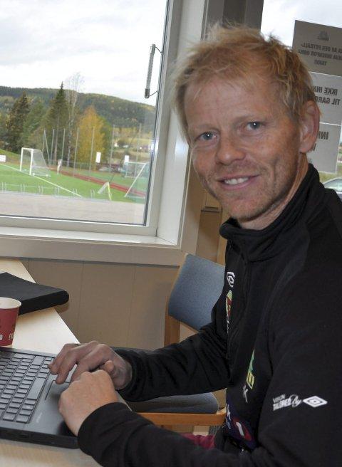 NIVÅ FEM: Rune Kalleberg leder Gran i Kretsligaen i 2017.