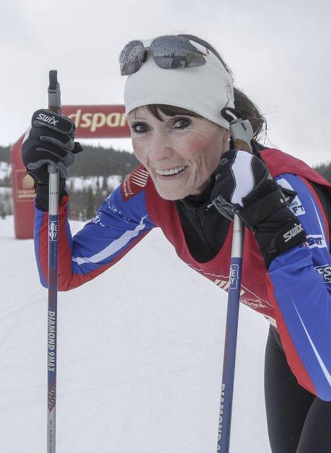 Birken: Karin Kjensli forbereder seg til Birken.