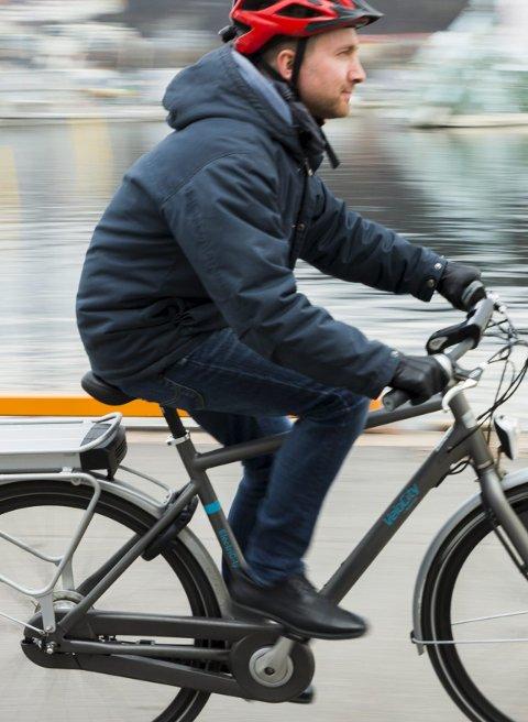 POP: Stadig flere kjøper seg el-sykkel.