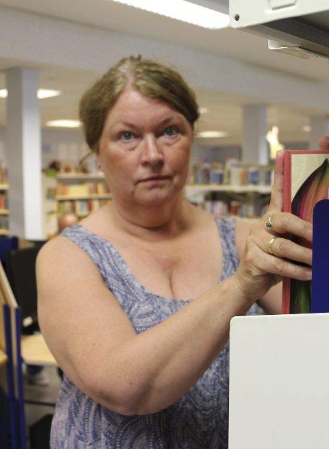 Ikke redd: Ruth Østby tror ny drift blir bra for biblioteket.