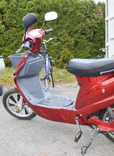 POPULÆRE: Flere av disse populære el-syklene ble solgt.