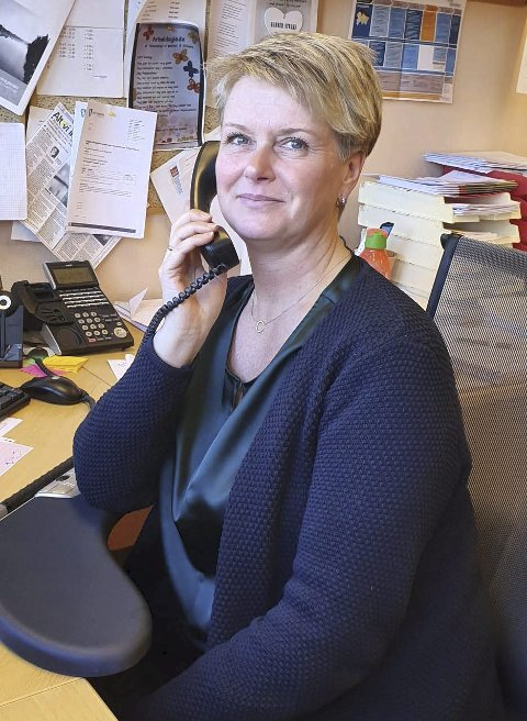 Har sjekket overalt: Laila Nylund finner ingen smitte i kommunen.