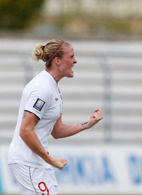 Isabell Herlovsen annonserte denne uken at hun legger opp som fotballspiller. - Hun vil stå med gullskrift i norsk fotballs mlandslagshistorie, sier fotballpresident Terje Svendsen.