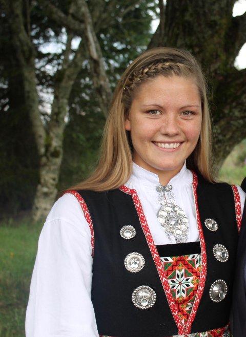 – Eg får frysningar og tårer i auga når eg ser kor mykje dette engasjerer, og kor gåvmilde folk er, seier Yvonne Skintveit (26) frå Kløvheim i Lindås kommune.