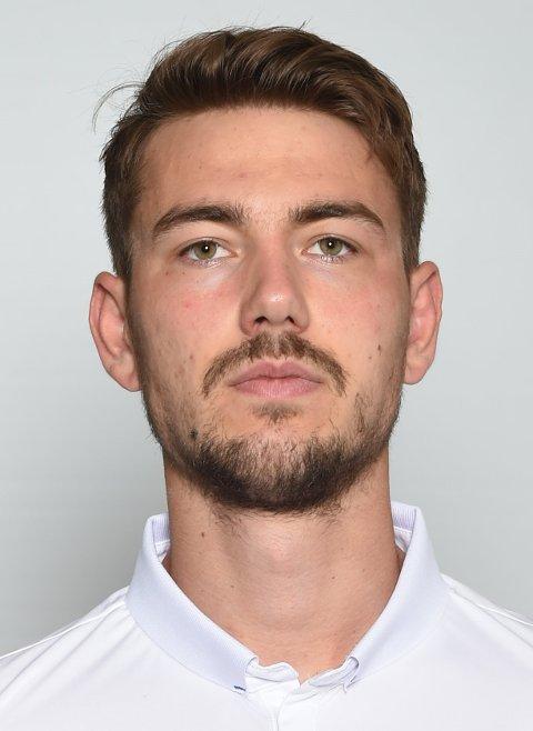 FØRSTE GANG PÅ OVER TO MÅNEDER: For første gang siden bortekampen mot Bodø/Glimt (1-6) i juni, er Fredrik Pallesen Knudsen å finne i FKHs startellever.