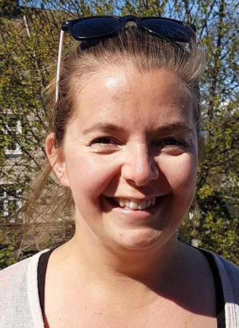 TAKKNEMLIG: Marielle Eriksen, informasjonskonsulent i HRS, setter pris på midlene de mottar fra Miljødirektoratet. Arkivfoto