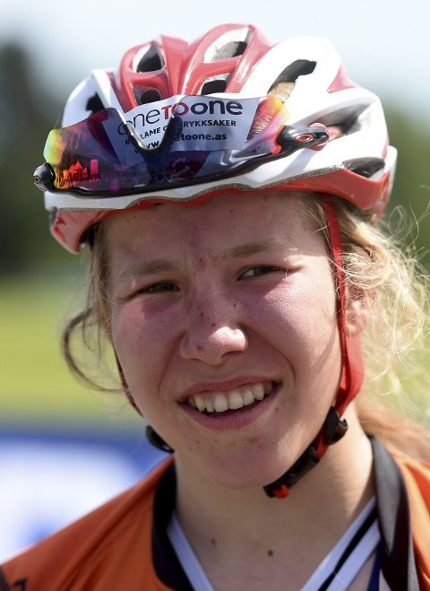 NM-GULL: Helene Marie Fossesholm vant sprinten.