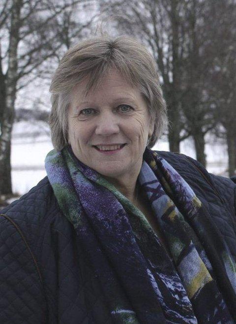 Velkommen: Grete Kalfoss ønsker scooter velkommen.