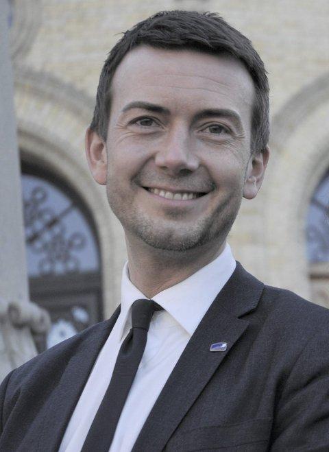 Kent Gudmundsen er stortingsrepresentant for Høyre.