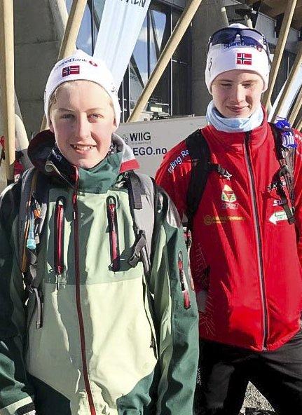DEBUTANTER: Magnus Rømuld Sandham og Eirik Blågestad, Askim
