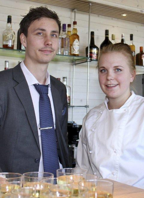 Drivere: Mikael og Ida Hammersten på Sportsmannen.