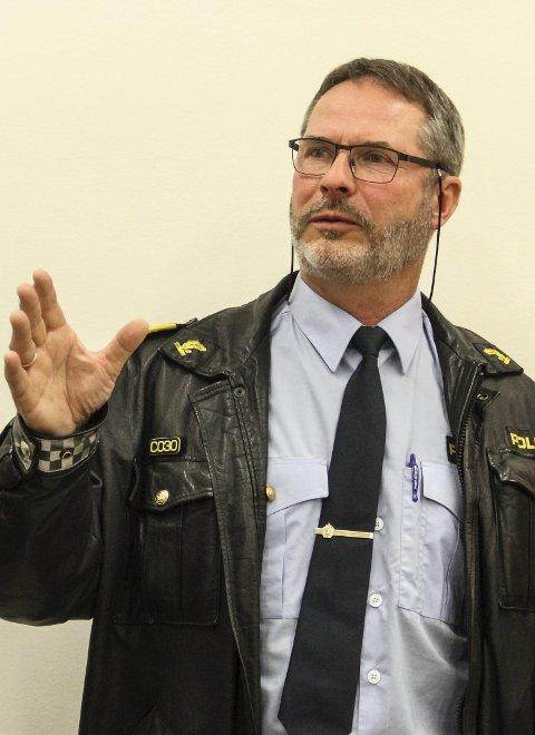 Politikontakt: Svein Arne Hatlevik. Arkivfoto