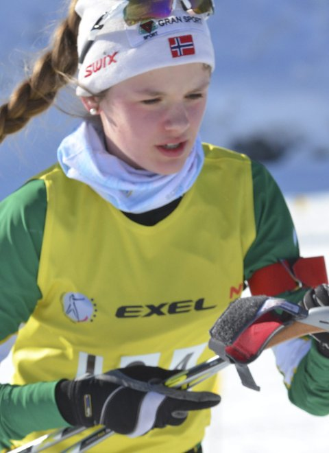 GODKJENT: Hannah Johnsrud ble nummer 25 og 29.