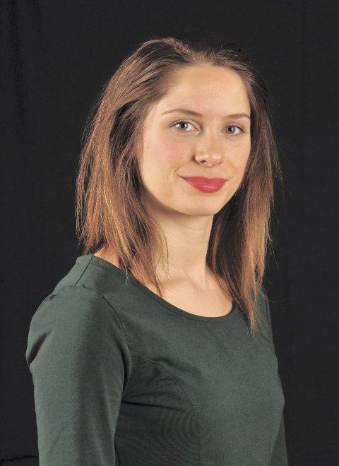 SKUESPILLER: Marie Hafnor spiller Ingeborg Refling Hagen.