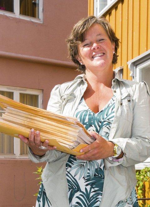 SØKER: Katja Aarflot ber om 100.000 kroner.