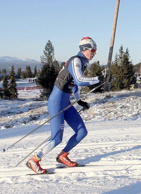 KJAPP: I konkurranse med om lag 250 deltakarar sprinta Eskil Hov inn til 32.-plass i Noregs-cupen i helga. (Foto: Privat)