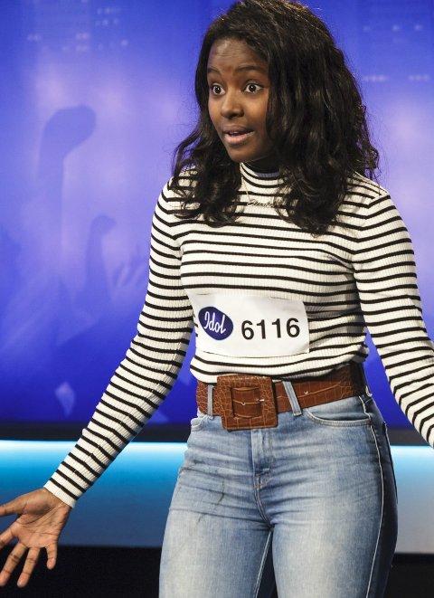 Idol 2016, audition i Oslo. Deltaker 6116, Elisabeth Welde fra Ski.